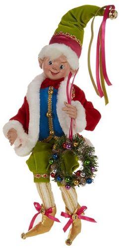 Elf With Wreath