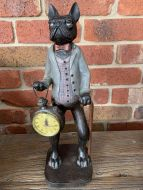 French Bull Dog with Watch